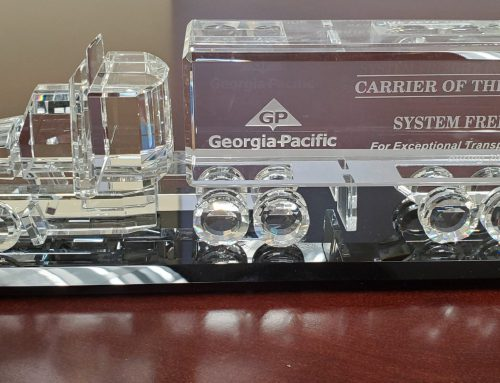 System Freight Inc. is selected as Georgia Pacific's Dedicated Carrier of The Year for a 2nd consecutive year for 2019